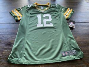 NWT Green Bay Packers Aaron Rodgers Women's Nike On Field Jersey-Medium