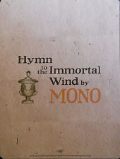 MONO, HYMN TO THE IMMORTAL WIND POSTER (F4)