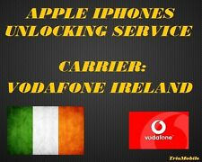 VODAFONE  IRELAND  - IPHONE  - 5S,6,6+,6S,6S+,SE,7,7+,8,8+,X  UNLOCKING