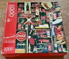 1986 SPRINGBOK JIGSAW PUZZLE THE COCA-COLA CENTENNIAL PUZZLE 2000 PIECE-COMPLETE
