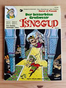 ISNOGUD Nr. 2 - Erstauflage aus 1975 - Ehapa Verlag