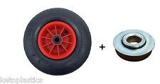 "12 ""roue pneumatique 4.00-6 sack truck chariot brouette wheel + roulements 12mm"