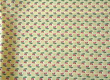 Patchwork 1 coupon tissu coton américain reproduction 1930/'s Motifs 45 x 55 cm