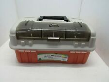 Plano 7603 Flip Sider Three Tray Tackle Box Top Bait Access Made In Usa