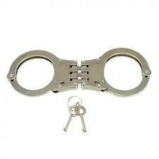 Metal police hand cuffs #7625