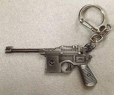 Porte clé en métal keyring Mauser C96 M712 WWII Crossfire