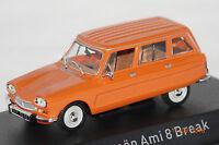 Citroen Ami 8 Break 1976 orange 1:43 Norev neu + OVP 153537
