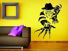 Freddy Krueger Wall Mural Vinyl Decal Sticker Decor Horror Movie