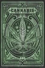 ORGANIC CANNABIS - HOME GROWN WEED POSTER 24x36 - 420 MARIJUANA SMOKING 810