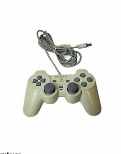 OEM Sony Playstation 1 PS1 PSOne Dualshock Analog Controller SCPH-110 White