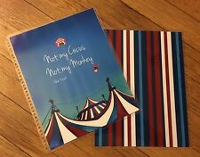 *Circus Monkey* Front/Back Cover Set 4 use w/ Erin Condren Planner