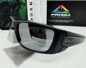 "OAKLEY matte black PRIZM POLARIZED ""FUEL CELL"" OO9096-I5 sunglasses NEW!"