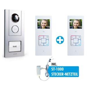 VISTUS VD 6311 Video-Türsprechanlage-Set 1-Familienhaus Gegensprechanlage VD6311