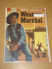 FOUR COLOR #613 VG (4.0) DELL COMICS WESTERN MARSHAL FEBRUARY 1955