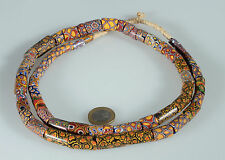 8954 Antike venezianischem Glasperlen Trade Beads Murrine millefiori XXL 94 cm
