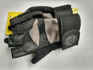 NEW Golds Gym Elite Wrist Wrap Gloves Weight Strength M/L