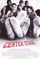 CENTER STAGE MOVIE POSTER Original 2000 DS 27x40 DANCING - BALLET Film