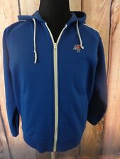 AMBERCROMBIE AND FITCH MENS SIZE MEDIUM FULL ZIP HOODIE JACKET