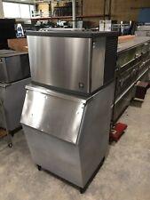 Manitowoc 450 lb. Ice Machine w/ Ice Bin - Air Cooled - Mod # Qy0454A 120 V