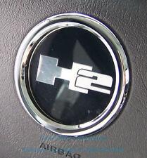 Chrome Billet Aluminium Steering Wheel Bezel for HUMMER H2 SUV & SUT