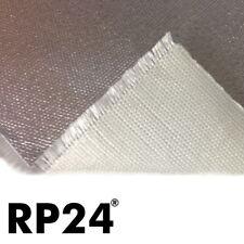 24x25cm Kfz E-Glas Gewebe Hitzematte Alu Hitzeschutz Auspuff  1,4 mm 800°C