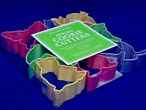 NIB Easy-Care Set of 8 Spring Cookie Cutters from Williams-Sonoma