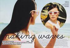 Miranda Cosgrove 8pg + cover TEEN VOGUE magazine feature, clippings