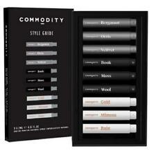 Commodity Style Guide Fragrance Kit 9 x 2ml Travel Eau de Parfum Unisex RARE