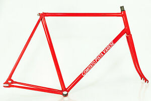 PINARELLO TRACK FRAME VINTAGE 90s STEEL PISTA RACING BIKE 56 57 FIXIE BICYCLE