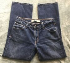 Gap Jeans Size 8 Ankle Bootcut Dark Wash Women's