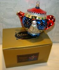 Polonaise,Kurt Adler, Engelbreit, A Spot of Tea ornament, Ap 1274, Ornament