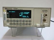 Hewlett Packard 8153a Lightwave Multimeter