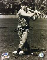 Ralph Kiner Psa Dna Coa Autograph 8x10 Photo  Hand Signed Authentic