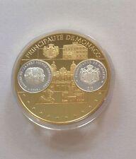 Polierte Platte Medaillen aus Monaco