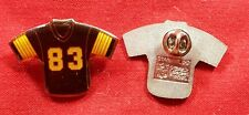 Lot Of 3 Pittsburgh Steelers # 83 Football Jersey NFL Lapel Pin Tie Tac Hat Pin