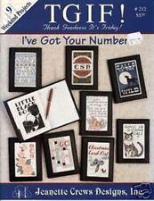I've Got Your Number - Jeanette Crews Designs