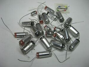 Assorted Polystyrene Capacitor Lot Axial Grab-Bag - NOS Qty 25