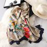 2020 Luxury Brand New Summer Women Silk Scarf Beach Hijab Shawls and Wraps Femal