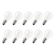 10x Glühbirne Tropfen 40W E14 klar Glühlampe 40 Watt Glühbirnen warmweiß dimmbar