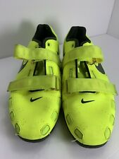 Nike Romaleos 2 Weightlifting Shoes Volt Size 11 - Used