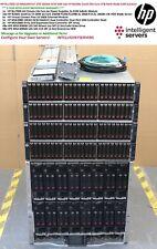 HP MSA2040 10Gbit 67.2TB SSD/SAS SAN BLc7000 G3 16x BL460c Gen8 256-Core 4TB RAM