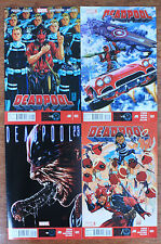 DEADPOOL #21-24 (2012 Series) all 1st prints & NM or better