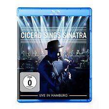ROGER CICERO - CICERO SINGS SINATRA-LIVE IN HAMBURG  BLU-RAY NEU