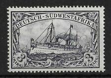 GERMAN SOUTH WEST AFRICA 1901 Mint VLH 3 M Michel #22 CV €40 VF
