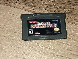 Castlevania Double Pack Aria Harmony Nintendo Game Boy Advance GBA Authentic