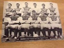 Hibernian Surname Initial H Football Prints