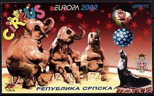 508 Bosnia and Herzegovina Republic of Serbian 2002 Circus Booklet **MNH