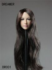 Dreamer DR001 1/6 Scale Female Head Sculpt For HT Phicen Female Body in stock