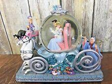 Disney Cinderella 50th Anniversary Carriage Coach Musical Snow Globe