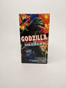 Vintage 1998 Godzilla vs Megalon VHSFront Row Entertainment 90's